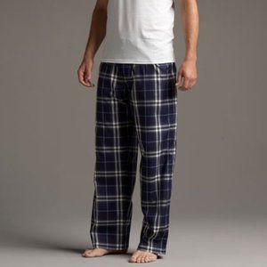 Burberry Navy Check Pajama Pants Large